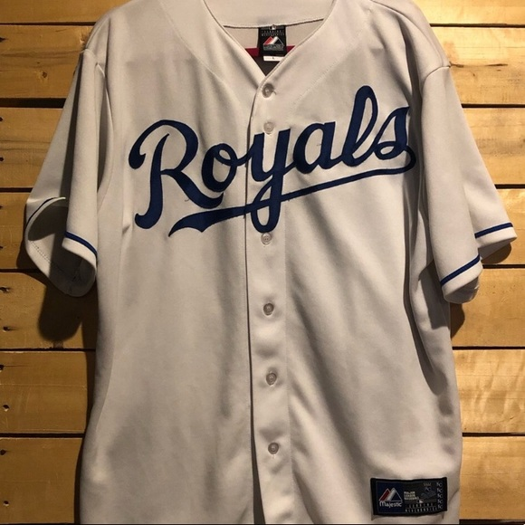 new product a5cb7 7ba24 Kansas City Royals Mike Moustakas Jersey
